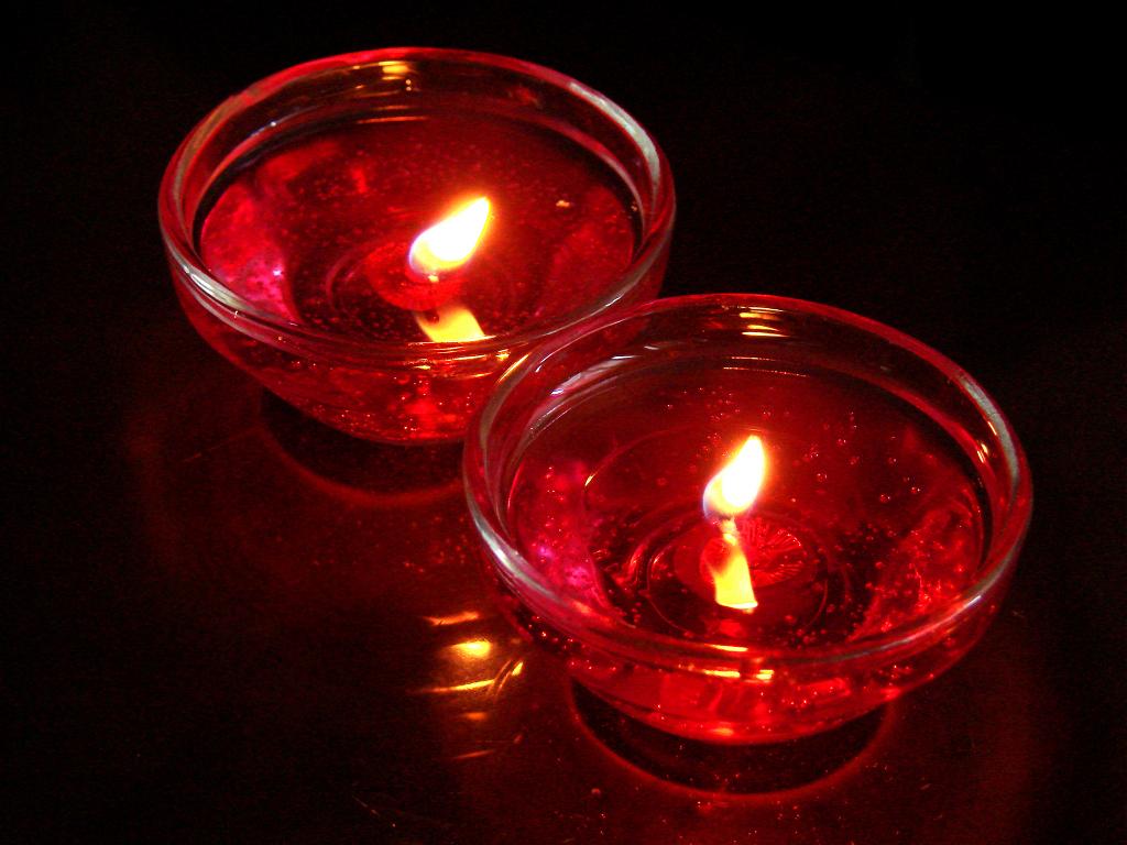 Черно красная свеча своими руками