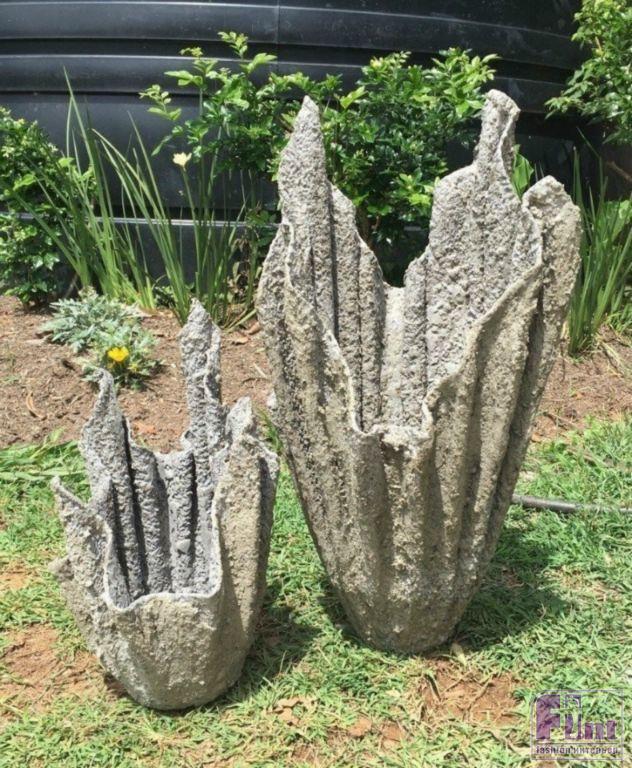 Украшение сада из цемента своими руками 27