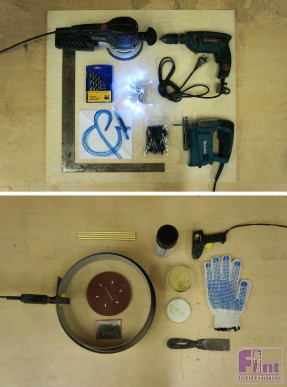 Как сделать световые буквы своими руками