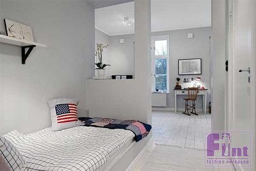 Дизайн однокомнатной квартиры для студента
