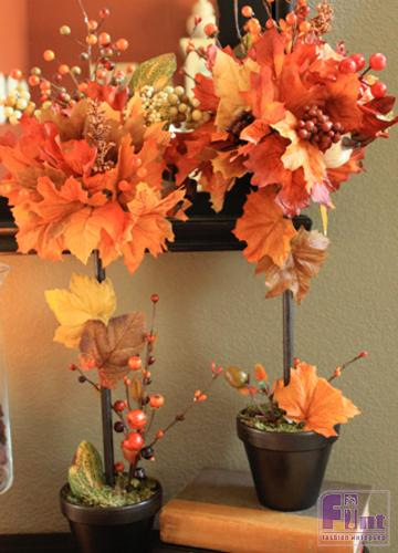 Деревья осень своими руками