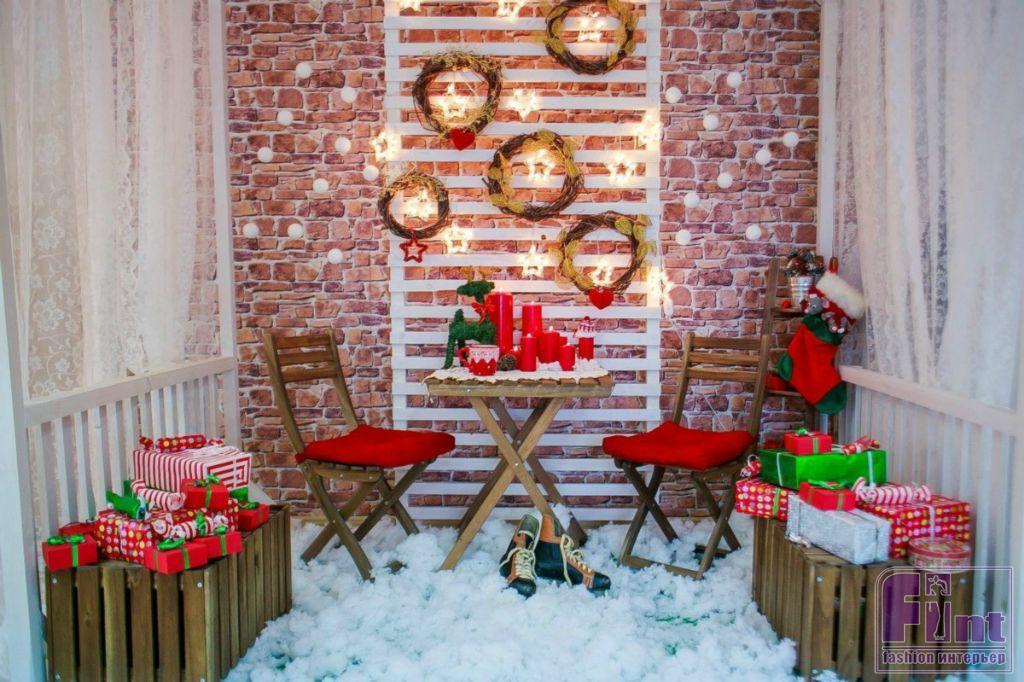 такого создание новогодней фотозоны дома приятных душевных поздравлений
