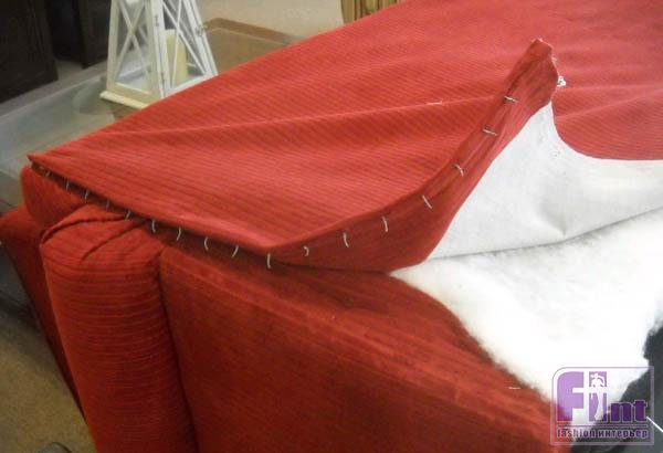 Сколько ткани нужно на обивку дивана своими руками
