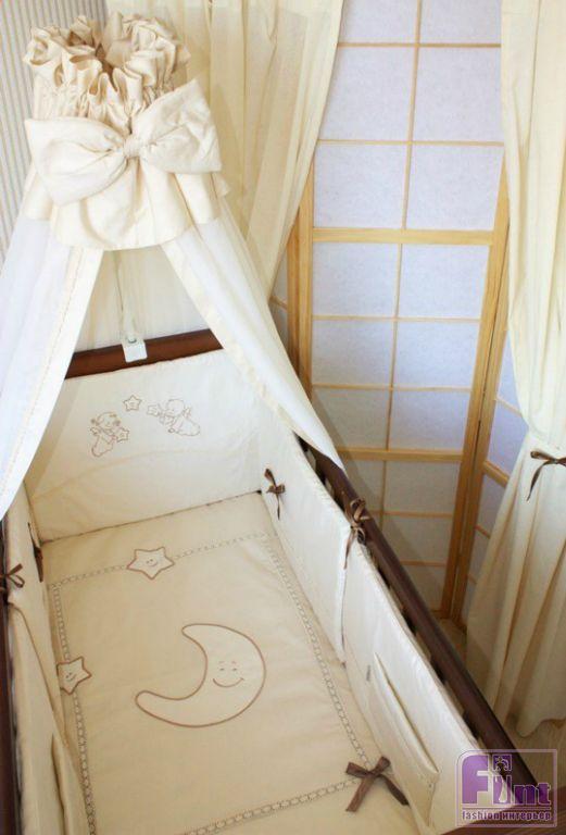Детская кроватка с балдахином в интерьере - Модный интерьер