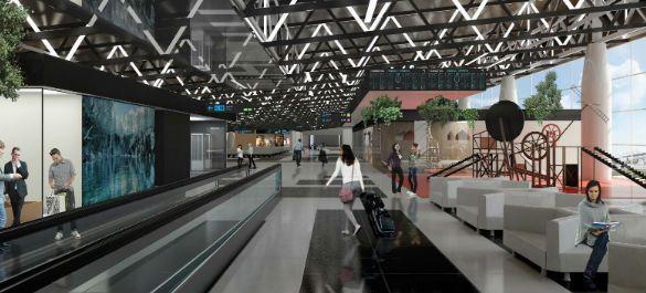 Модные идеи русского конструктивизма в проекте нового терминала аэропорта «Шереметьево»