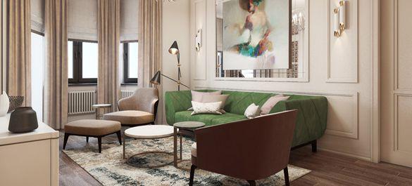 Подмосковная квартира с неповторимым французским шармом