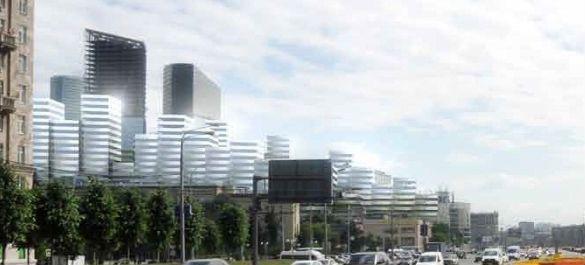 «Невесомый» жилищный комплекс от японского архитектора Кенго Кумы в Москве