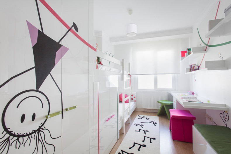 Как оформить зону для игр и творчества в детской комнате?