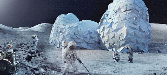 Космическая архитектура и дизайн: объявлены лучшие проекты по застройке Луны