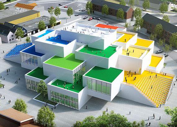 Дом из конструктора LEGO: фантазия без границ