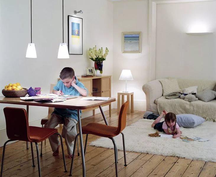 Освещение детской: как правильно расположить светильники в детской комнате