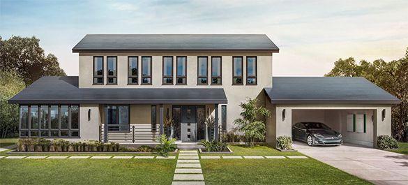 Под крышей дома твоего: Tesla открыла прием заказов на крыши с солнечными панелями