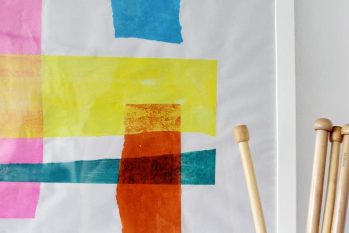 Как нарисовать картину для украшения интерьера, не умея рисовать: искусство из папиросной бумаги