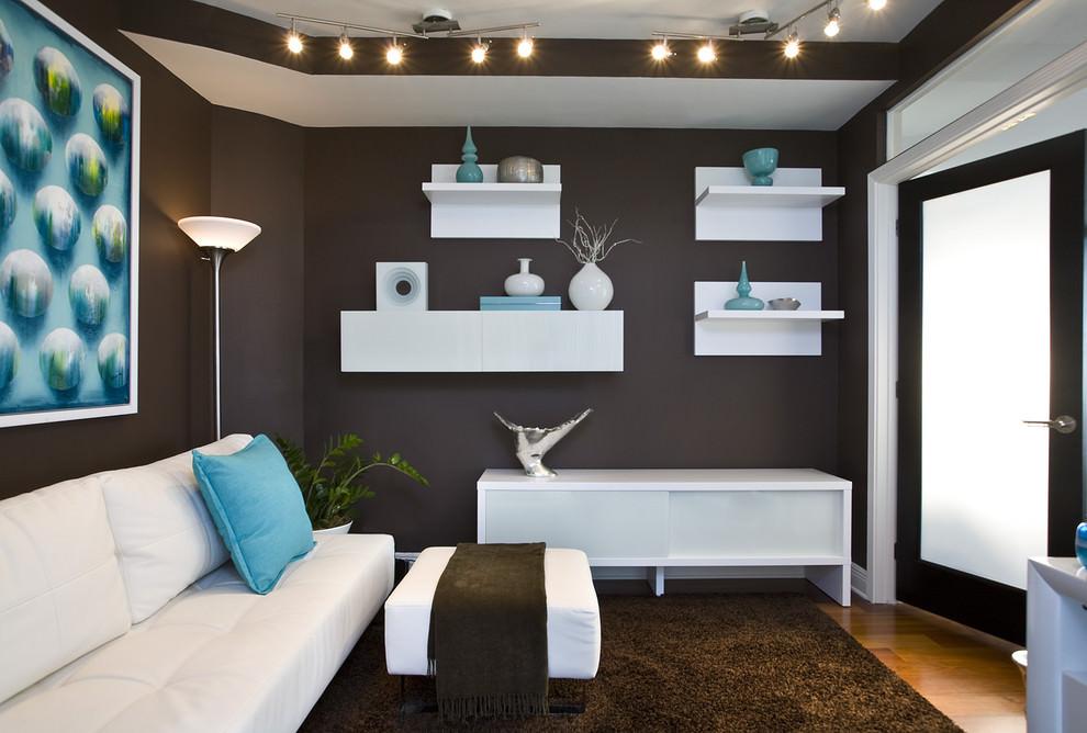 Как сочетать друг с другом стены потолок и пол в стильном интерьере