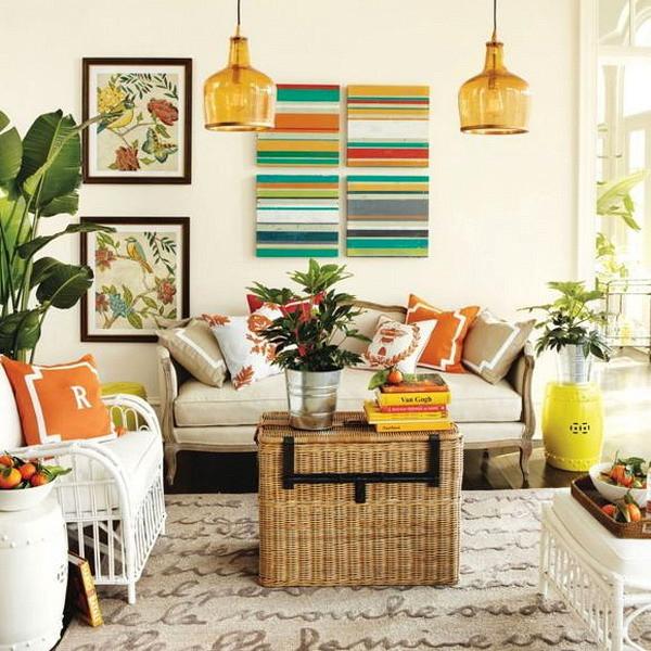 Как создать атмосферу летнего настроения в своём доме: 10 советов дизайнера