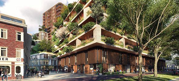 Вертикальное озеленение «по голландски»: вертикальный лес от Stefano Boeri Architetti