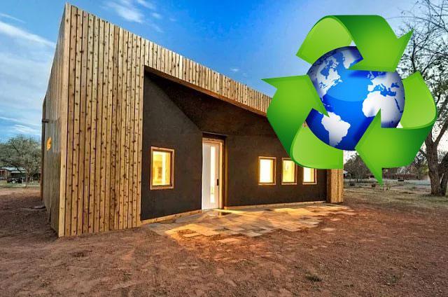 ТОП-5 зданий из переработанных материалов (фото)
