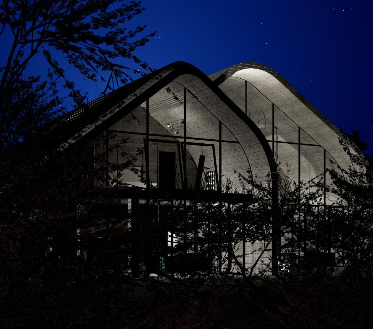 Эко-дом на солнечных батареях Tesla