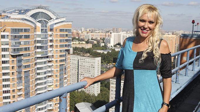Двухуровневый пентхаус на Ленинском проспекте писательницы Юлии Шиловой