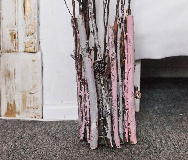 «Осенний» светильник в модном ЭКО стиле своими руками
