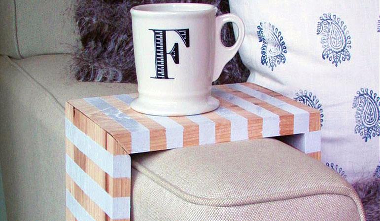Красивый и удобный диванный столик: мастер-класс