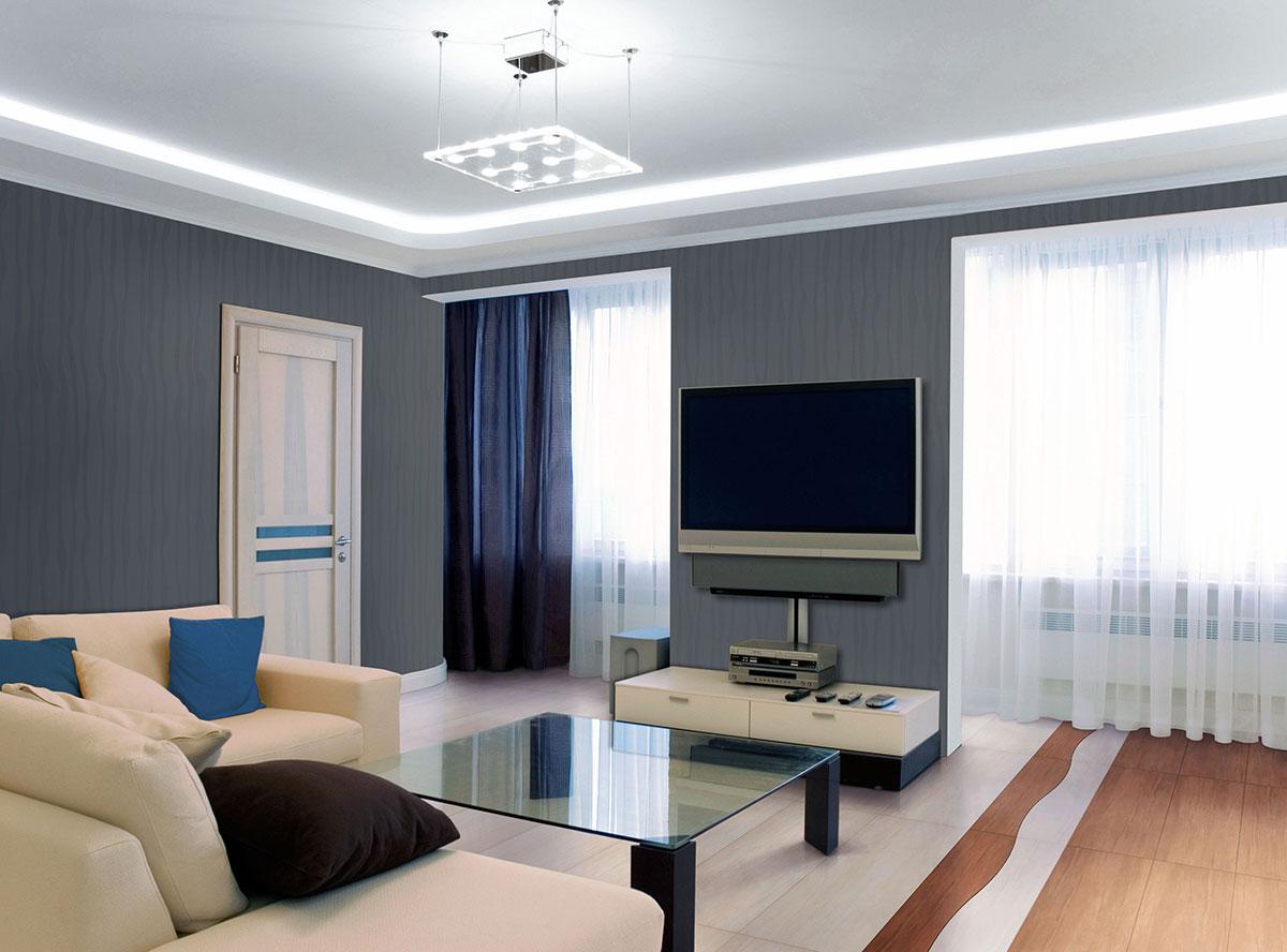 Как оформить зону ТВ: 12 дизайнерских идей