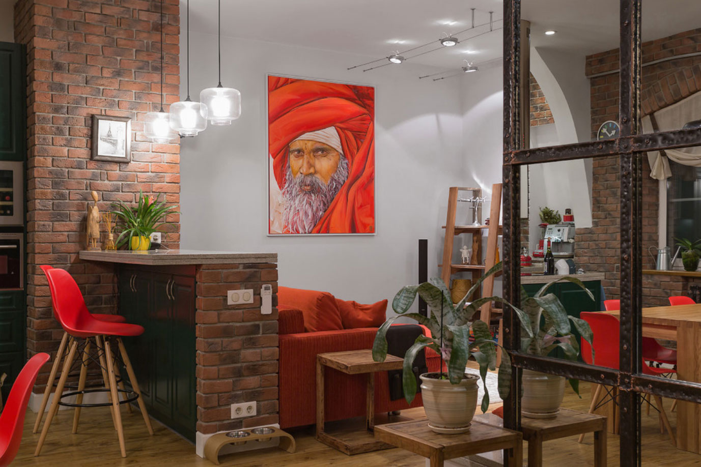 Двухуровневая квартира с мансардой в «сталинском доме»