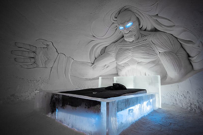 В Финляндии открылся ледяной отель по мотивам культового сериала «Игра престолов»