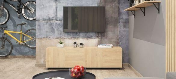 Минимализм с элементами лофта: контрастная гармония текстур