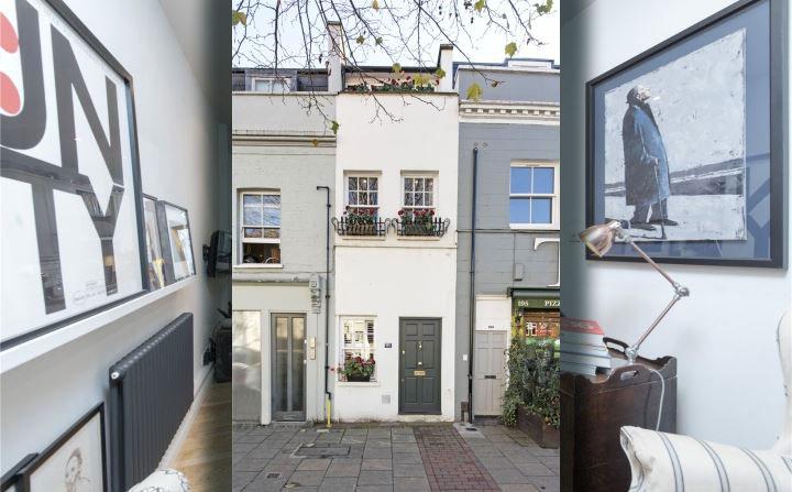 Дом шириной всего в два метра, ценой в миллион фунтов стерлингов