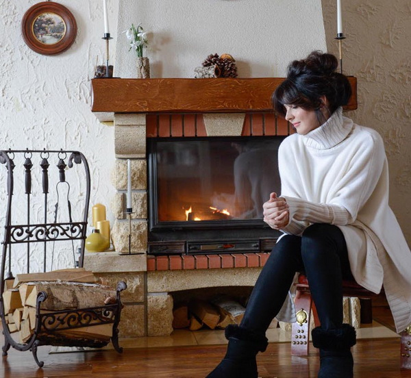 Просторный загородный дом в стиле шале популярной певицы Наталии Власовой