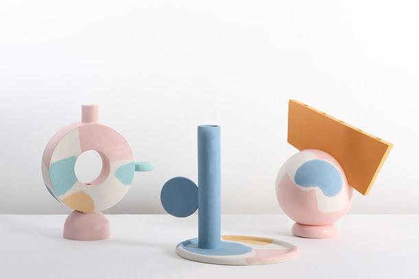 Новая коллекция абстрактных ваз от российского дизайнера Кати Толстых