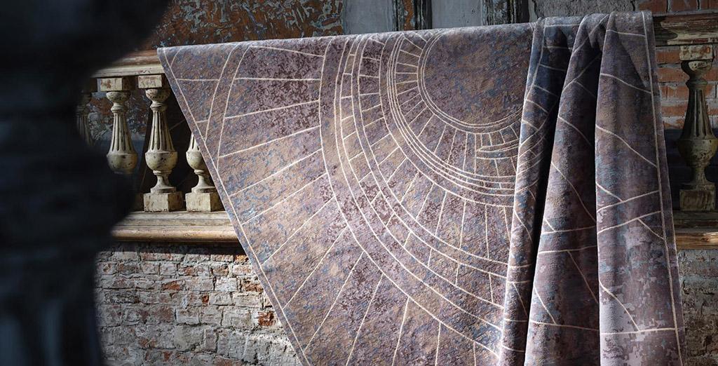 Три коллекции ковров от современных российских дизайнеров