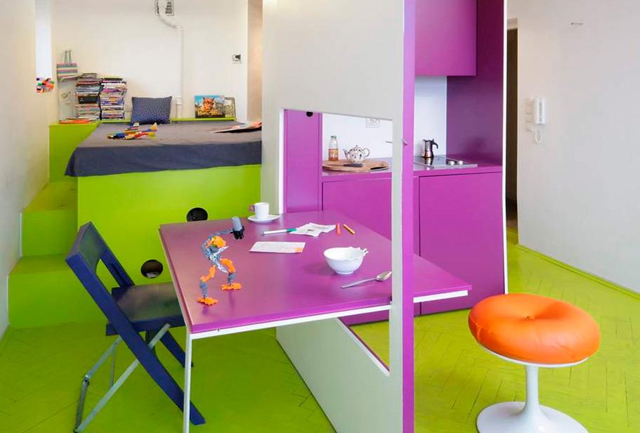 Как правильно подобранный цвет помогает решать интерьерные задачи и творит чудеса