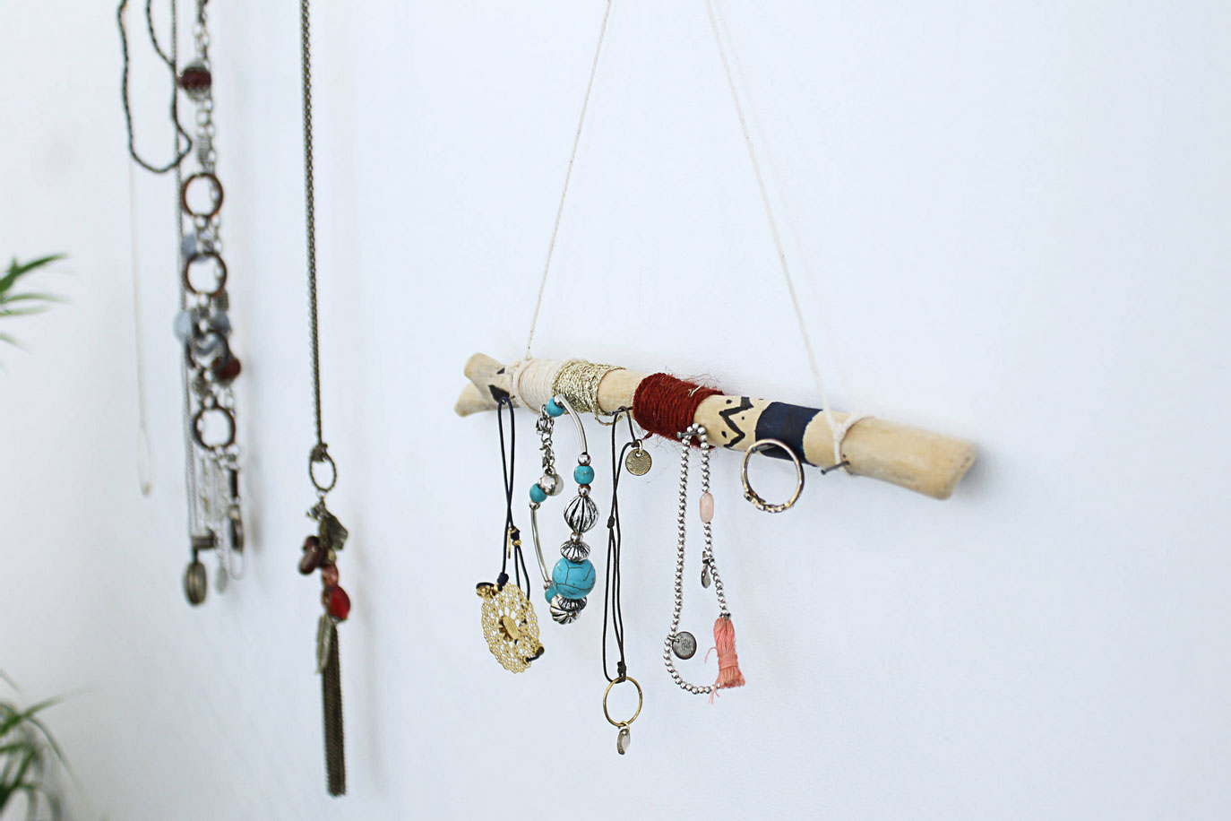 Органайзер для драгоценностей и бижутерии своими руками в стиле этнического минимализма