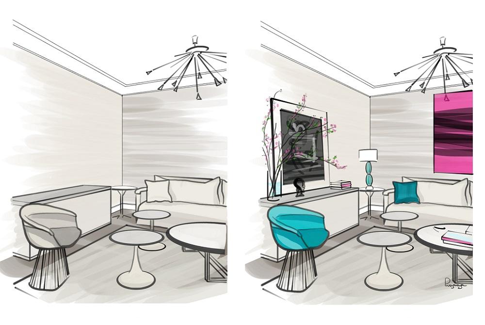 Как освежить и сделать нескучной бежевую комнату: советы дизайнеров по интерьерам