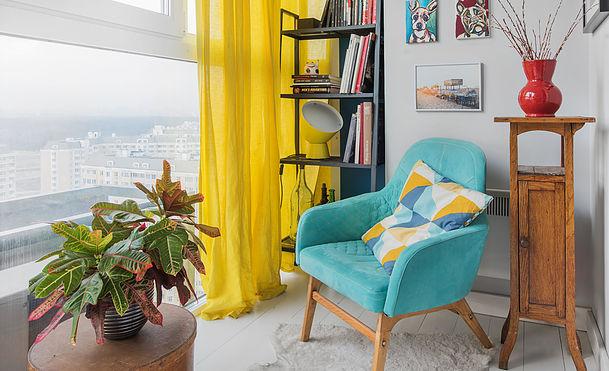 Превращаем «однушку» в квартиру студию: функциональный интерьер в стиле рустик