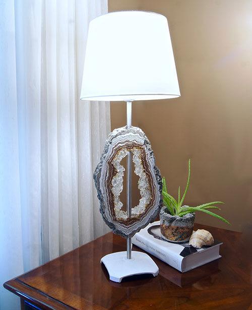 Удивительно красивая настольная лампа своими руками