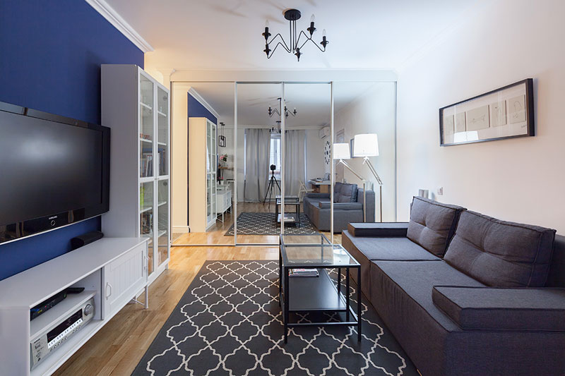 Скандинавский стиль в интерьере небольшой московской квартиры