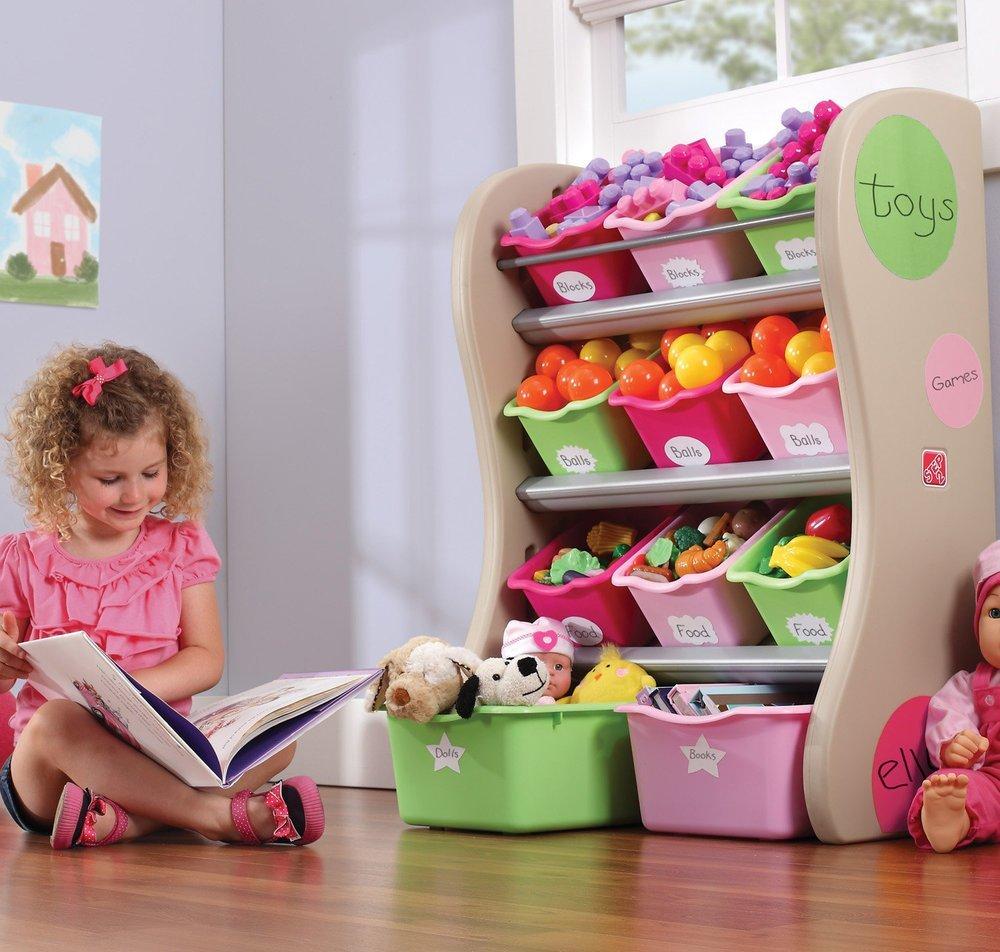 Как хранить игрушки в детской комнате: 7 идей организации пространства