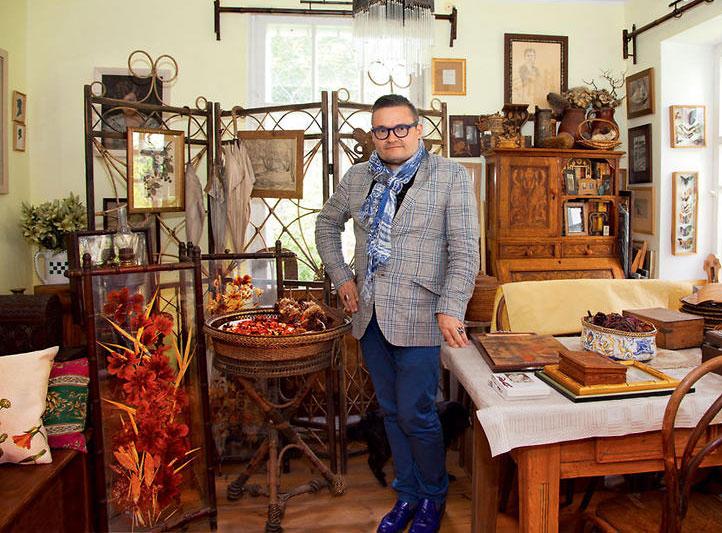 Фамильное поместье в Литве модельера и стилиста Александра Васильева