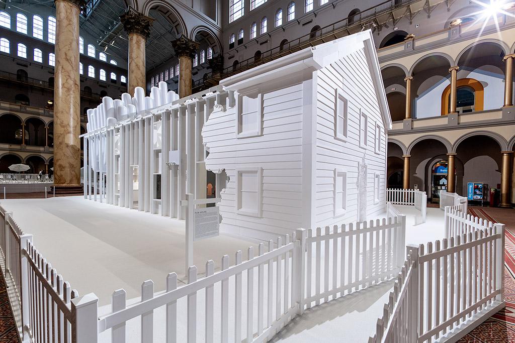 В нью-йоркском музее построили «идеальный дом»