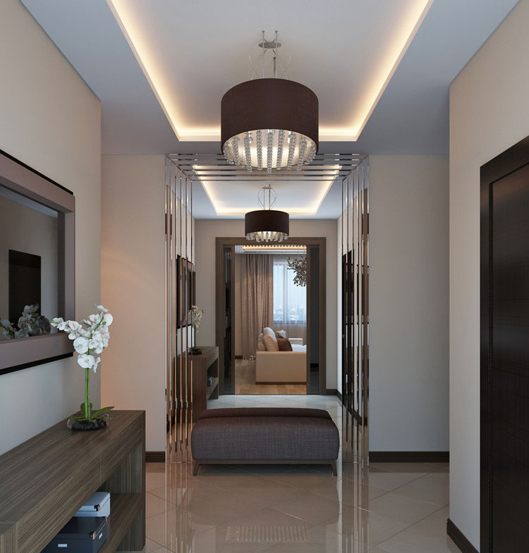Дизайн интерьера в современном стиле с натуральными материалами