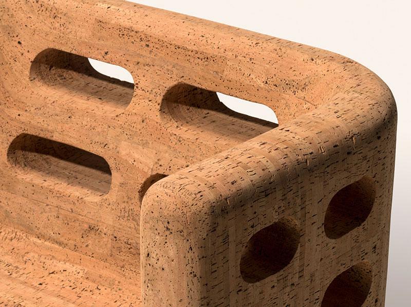 Удивительная мебель из пробки от бразильских дизайнеров Кампана
