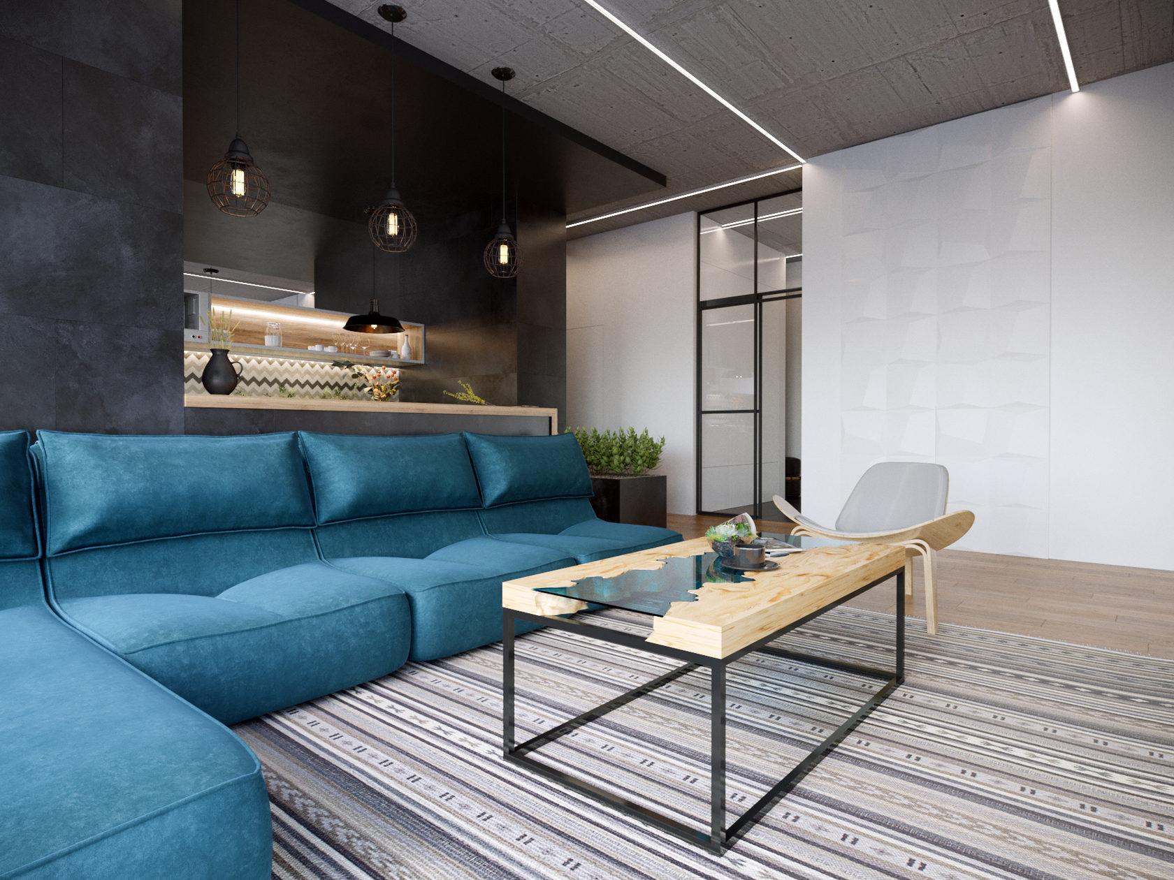 Дизайн интерьера квартиры с «европейскими ценностями»