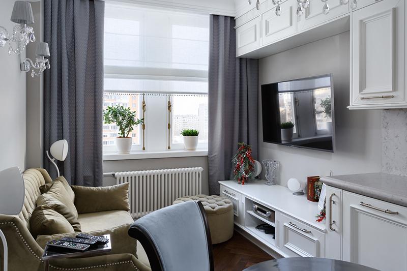 Дизайн интерьера нестандартной квартиры небольшого размера