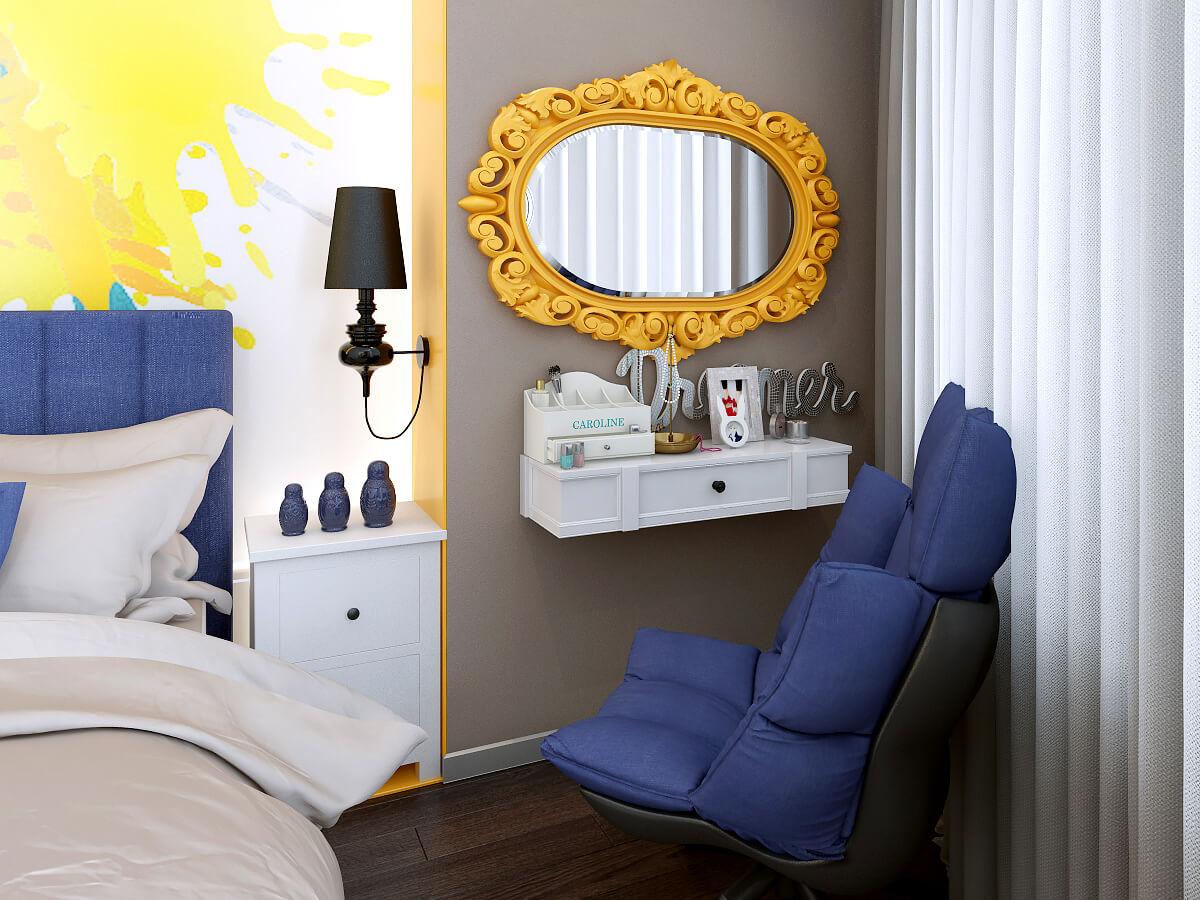 Квартира с круглой стеной: как совладать с нестандартной планировкой «треугольной» квартиры