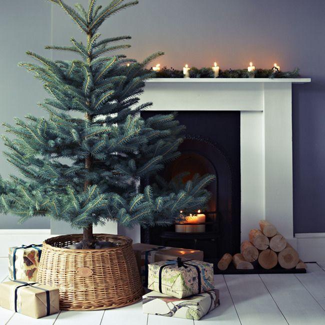 Как правильно НЕ наряжать новогоднюю елку: Новый год в стиле минимализм