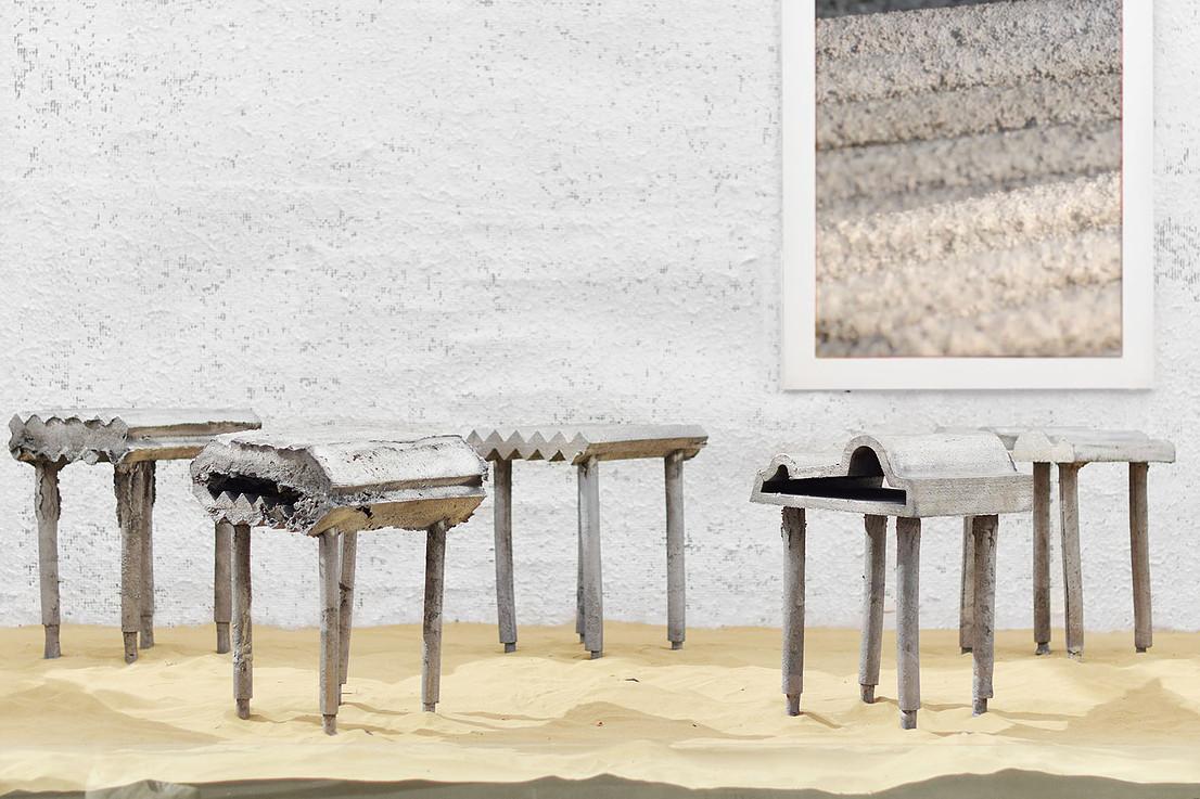 46 скульптурных табуретов от профессионалов дизайна и архитектуры из Кувейта