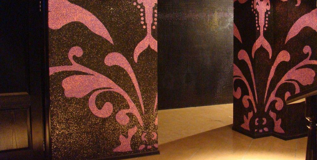 Декоративное покрытие типа «флок».